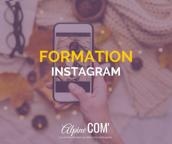 formation professionnelle Instagram