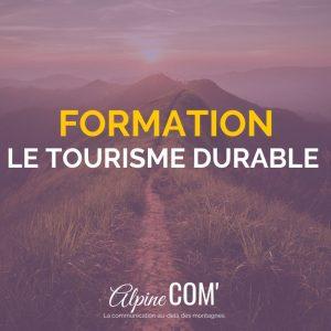 formation professionnelle tourisme durable